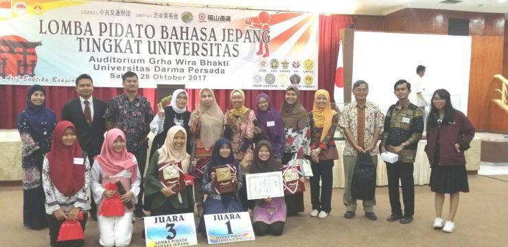 Lomba Pidato Bahasa Jepang Tingkat Universitas