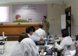 Workshop Pembelajaran Bahasa Jepang – Marugoto bersama Tenaga Ahli Japan Foundation