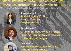 Webinar: Transisi New Normal di Jepang VS Indonesia